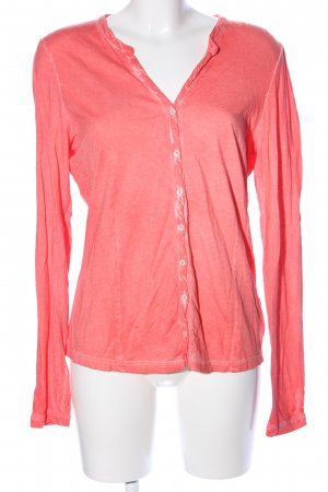Marc O'Polo Langarm-Bluse pink Casual-Look