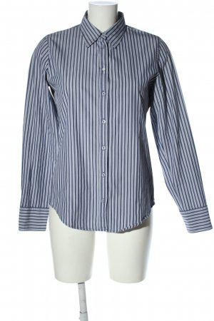 Marc O'Polo Langarm-Bluse blau-weiß Streifenmuster Business-Look