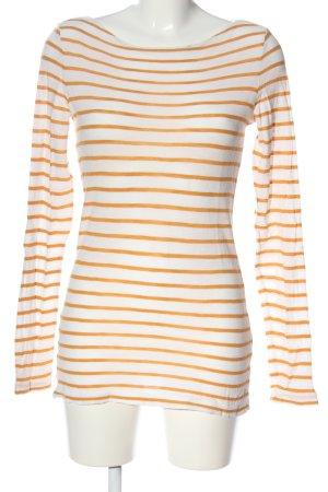 Marc O'Polo Stripe Shirt white-light orange striped pattern casual look