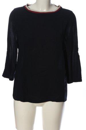 Marc O'Polo Langarm-Bluse mehrfarbig Casual-Look