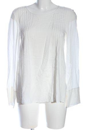 Marc O'Polo Langarm-Bluse weiß Casual-Look