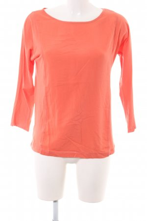 Marc O'Polo Langarm-Bluse hellorange Casual-Look