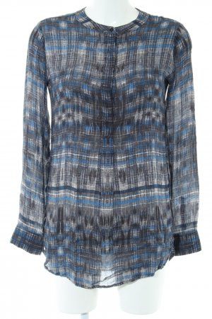 Marc O'Polo Langarm-Bluse Allover-Druck Business-Look