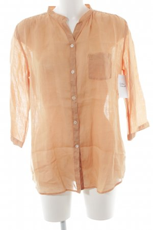 Marc O'Polo Langarm-Bluse apricot Casual-Look