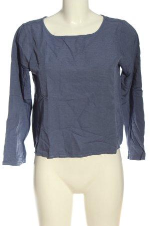 Marc O'Polo Langarm-Bluse blau Business-Look