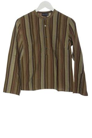 Marc O'Polo Langarm-Bluse Streifenmuster Casual-Look