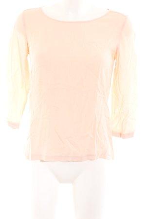 Marc O'Polo Langarm-Bluse nude Casual-Look