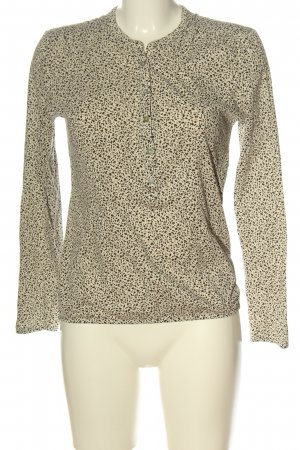 Marc O'Polo Long Sleeve Blouse natural white-black flower pattern casual look