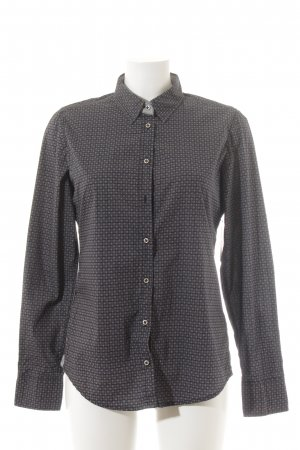Marc O'Polo Langarm-Bluse grafisches Muster Casual-Look