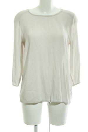 Marc O'Polo Langarm-Bluse hellbeige schlichter Stil