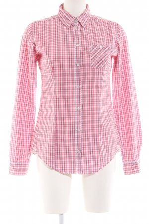 Marc O'Polo Langarm-Bluse Karomuster Casual-Look