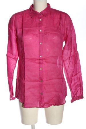 Marc O'Polo Langarmhemd pink Casual-Look