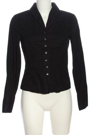 Marc O'Polo Langarmhemd schwarz Elegant