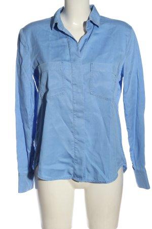 Marc O'Polo Langarmhemd blau Business-Look