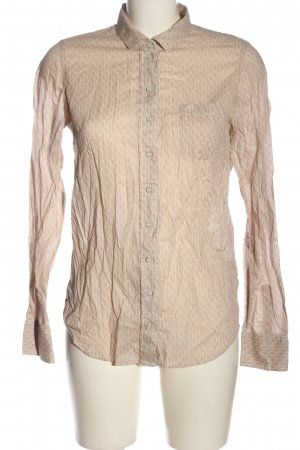 Marc O'Polo Langarmhemd creme-nude Allover-Druck Casual-Look