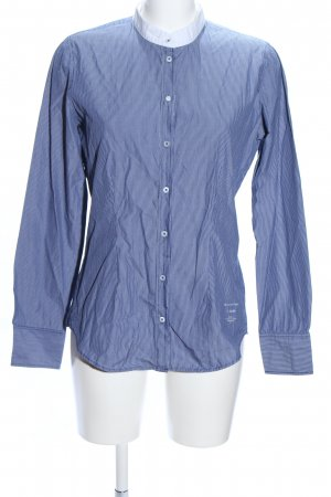 Marc O'Polo Langarmhemd blau-weiß Streifenmuster Business-Look