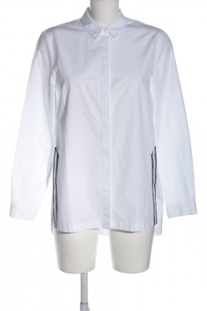 Marc O'Polo Camicia a maniche lunghe bianco motivo a righe stile professionale