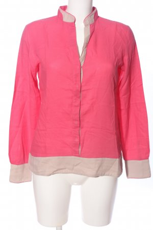 Marc O'Polo Langarmhemd pink-wollweiß Casual-Look