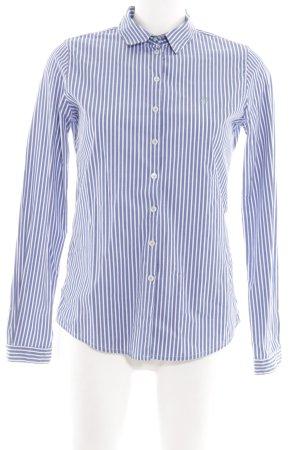 Marc O'Polo Camicia a maniche lunghe blu-bianco motivo a righe