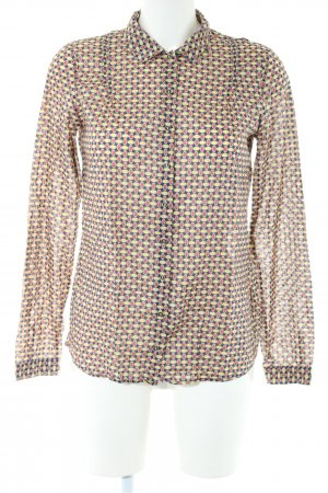 Marc O'Polo Long Sleeve Shirt abstract pattern business style