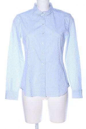 Marc O'Polo Langarmhemd blau Streifenmuster Business-Look