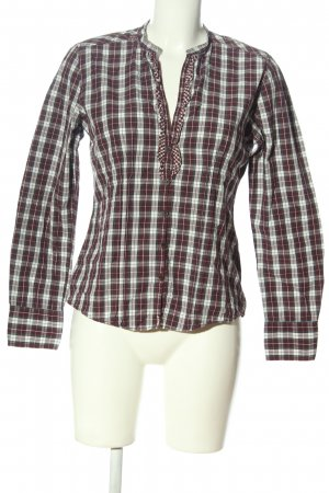 Marc O'Polo Langarmhemd Allover-Druck Casual-Look