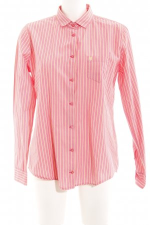 Marc O'Polo Langarmhemd gelb-rosa Streifenmuster Business-Look