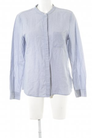 Marc O'Polo Langarmhemd himmelblau Punktemuster Casual-Look