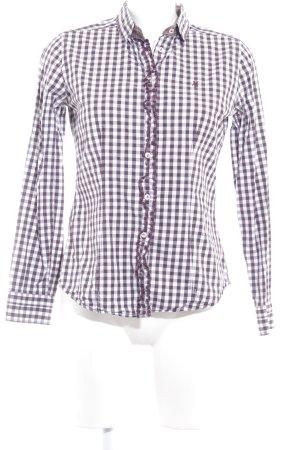 Marc O'Polo Langarmhemd Karomuster schlichter Stil
