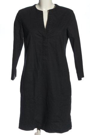 Marc O'Polo Sukienka z długim rękawem czarny W stylu casual