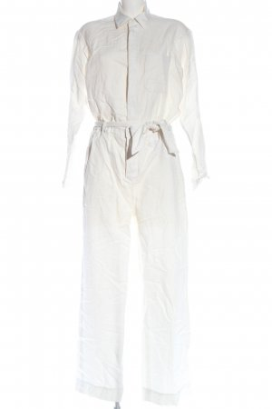 Marc O'Polo Langer Jumpsuit weiß Casual-Look