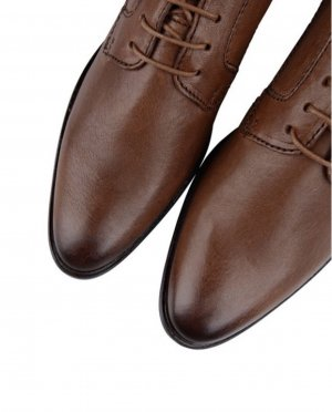 Marc O'Polo Leder Business Halbschuhe Größe 40 braun neuwertig