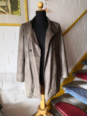 Marc O'Polo Leder Mantel Coat Jacke