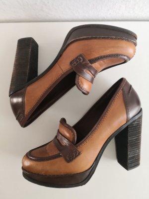 Marc O'Polo Leder Pumps Absatz Schuhe