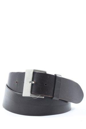 Marc O'Polo Cinturón de cuero marrón estilo «business»