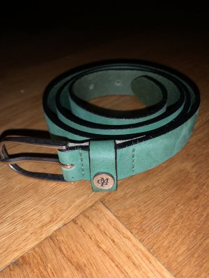 Marc O'Polo Leather Belt lime-green-green leather