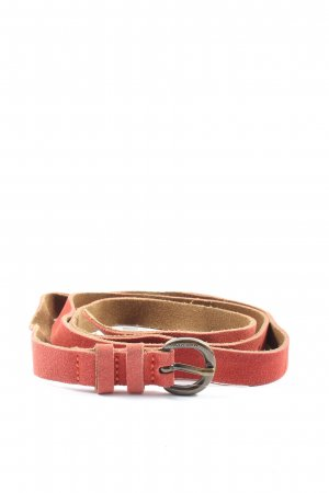 Marc O'Polo Leather Belt red casual look