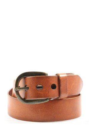 Marc O'Polo Cinturón de cuero marrón look casual