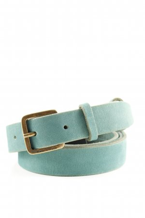 Marc O'Polo Leather Belt turquoise casual look