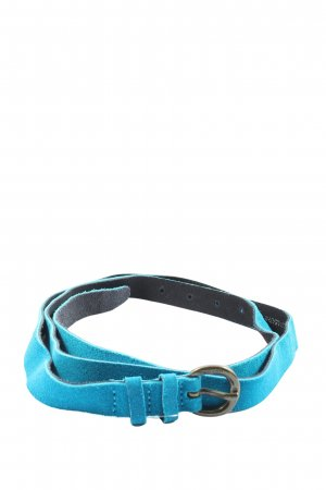 Marc O'Polo Leather Belt blue casual look