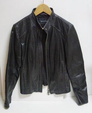Marc O'Polo Veste en cuir noir cuir