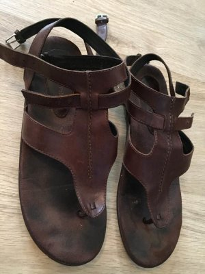 Marc O'Polo Roman Sandals brown leather