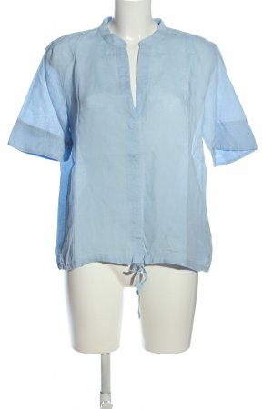 Marc O'Polo Blusa in lino blu stile casual