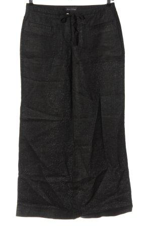 Marc O'Polo Leinenhose schwarz Casual-Look
