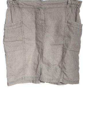 Marc O'Polo Linen Skirt light grey casual look