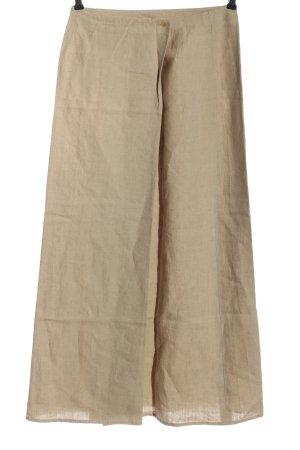 Marc O'Polo Falda de lino crema moteado look casual