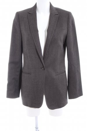 Marc O'Polo Long-Blazer hellgrau Business-Look