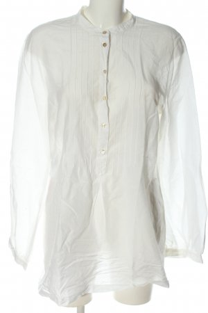 Marc O'Polo Long-Bluse weiß Casual-Look