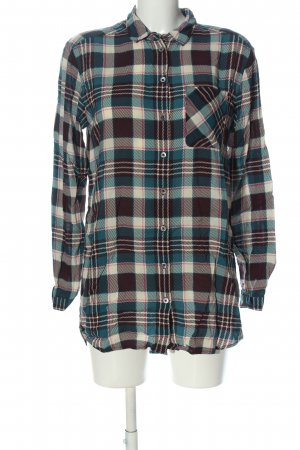 Marc O'Polo Long-Bluse Karomuster Casual-Look