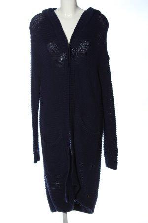 Marc O'Polo Abrigo de punto azul-azul oscuro Algodón